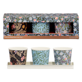 V&A Herb Pot Set with Tray