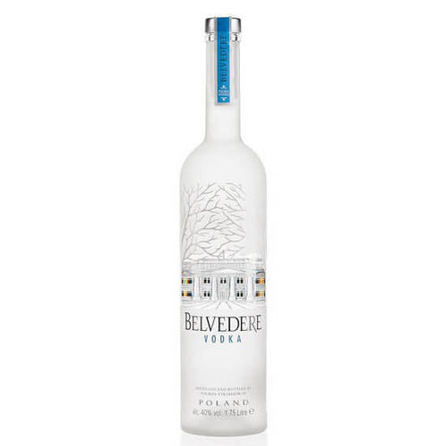 Belvedere Vodka 1.75 Litre Illuminated Bottle