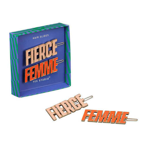 Femme & Fierce Hair Slides Set