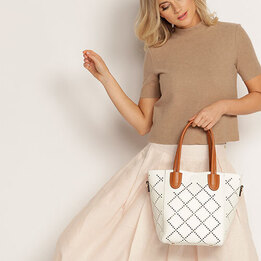 Louenhide White Bermuda Bag