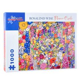 1000 Piece 'Flower Cycle' Puzzle