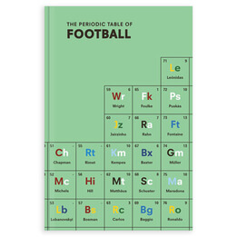Periodic Table of Football, Hardcover