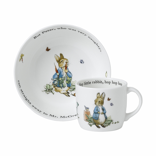Blue 2-Piece Peter Rabbit Set by Wedgwood