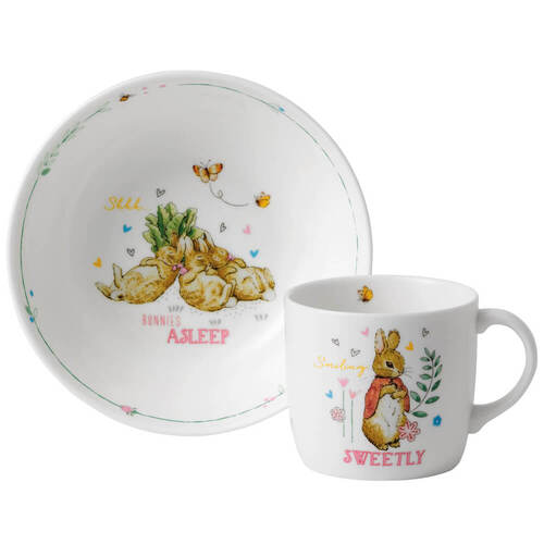 Pink 2-Piece Peter Rabbit Set by Wedgwood