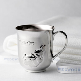 Wedgwood Peter Rabbit Silver Plated Baby Cup