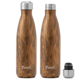 S'Well Teakwood Insulated Bottle