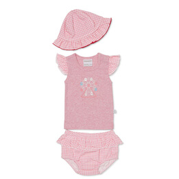 Marquise Top Bloomer & Hat Set