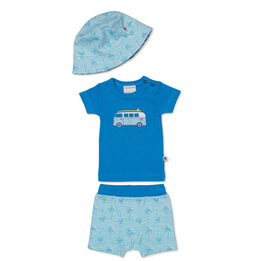 Marquise Blue T-Shirt & Shorts Set