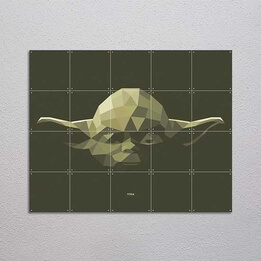 Star Wars Yoda Wall Art IXXI