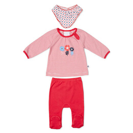 Marquise Top, Leggings & Bib Set