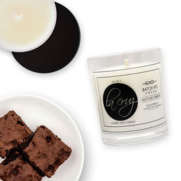 La Cruz Heavenly Chocolate Brownie Candle