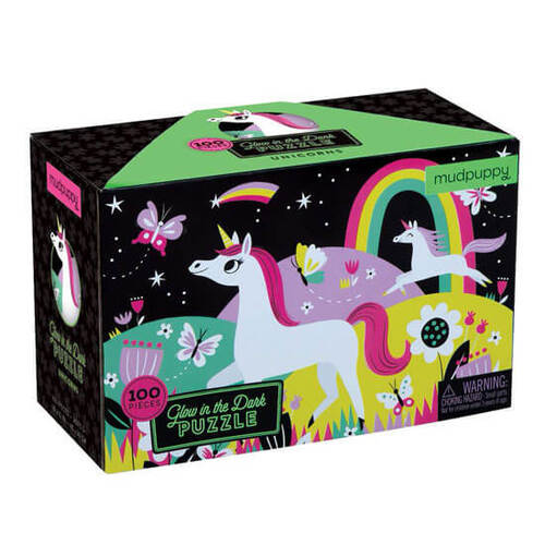 Unicorn Glow In The Dark Puzzle