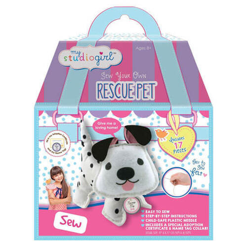 Rescue Puppy DIY Sewing Kit