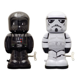 Darth Vader & Stormtrooper Tin Wind-Up Set