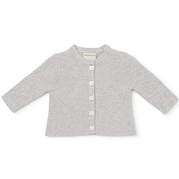 Marquise Knitted Grey Baby Cardigan