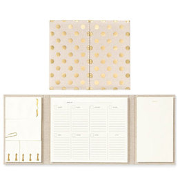 Kate Spade Polka Dot Calendar and Folio