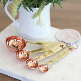 Stephanie Alexander Copper Measuring Spoons
