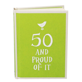 50 And Proud Of It Keepsake