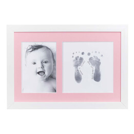 Photo Frame Inkless Print Set Pink