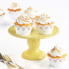 Mellow Yellow High Tea Cake Stand