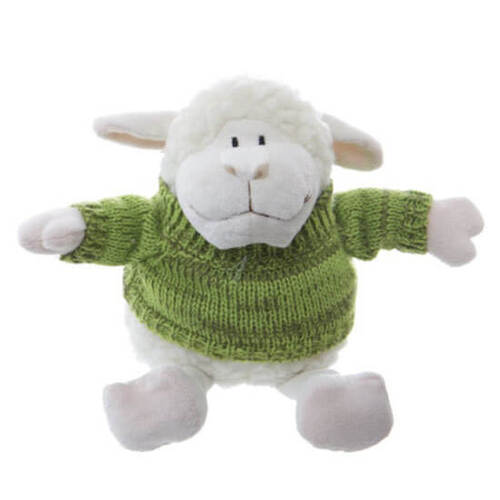 Lambert the Lamb in Green Knitted Jumper