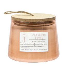 Platinum Peony Highly Scented Candle