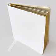 A6 Keepsake Notebook in White