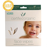 Nature's Child Organic Cotton Face Washers 2 Pack