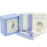 Peter Rabbit 'My First Library' Set of 4 Board Books