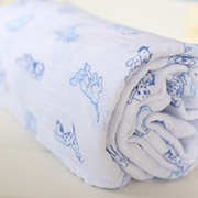 Sheridan Wrap Blue Puppies