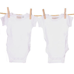 Marquise White Body Suit Set of 2