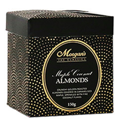 Morgan's Maple Coconut Roasted Almonds 150g