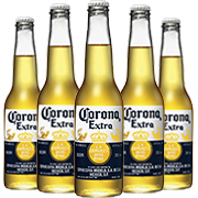 5 x Corona Fully Imported Beers 355ml